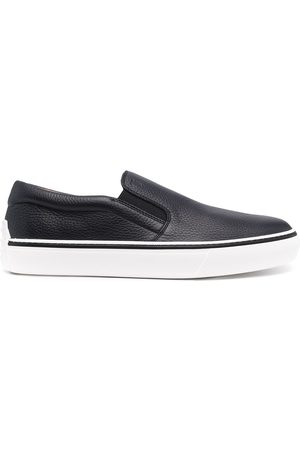 Tod's Men Flat Shoes - Slip-on leather sneakers