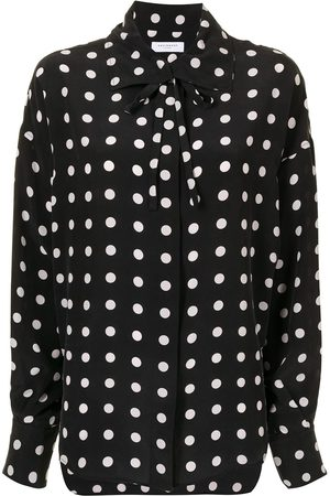 Equipment Juditha polka-dot blouse