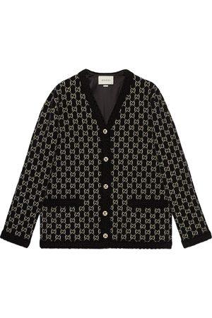 Gucci GG-jacquard cardi-coat - 1080