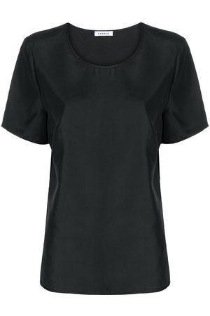 P.A.R.O.S.H. Round neck silk T-shirt