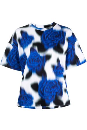 Kenzo Blurry-print floral T-shirt