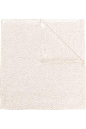 Missoni Metallic-threaded grained scarf