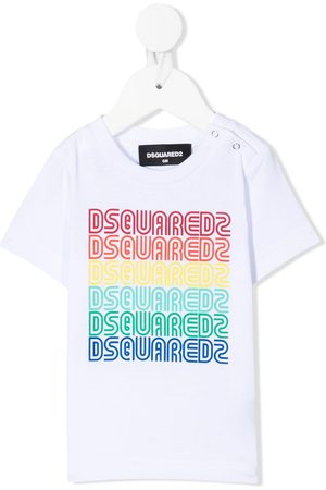 Dsquared2 Kids Multi logo-print T-shirt