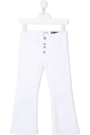 DONDUP KIDS Girls Flares - Mid-rise flared jeans
