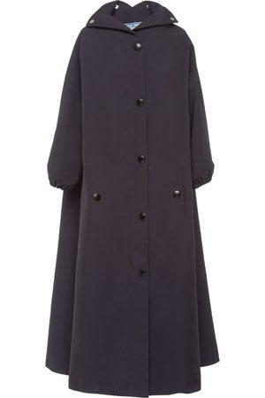 Prada Long hooded raincoat