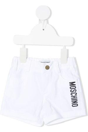 Moschino Kids Teddy-print shorts