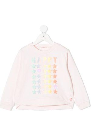 Billieblush Glitter-print sweatshirt