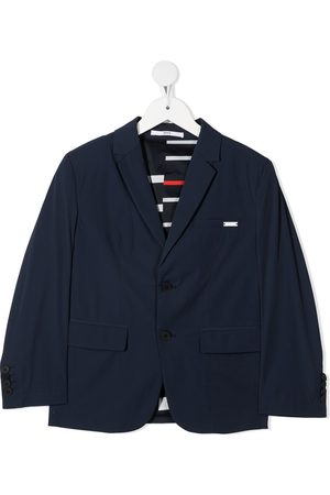 HUGO BOSS Notched-lapels single-breasted blazer