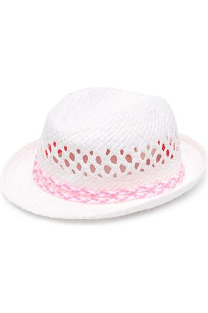 Billieblush Cut-out woven hat