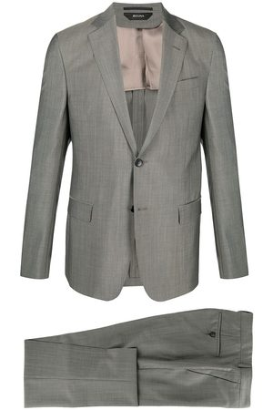 Z Zegna Single-breasted two-piece suit - Grey