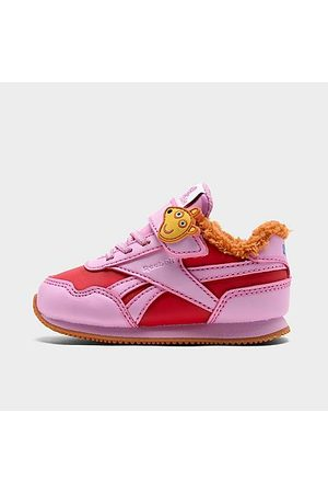 Reebok Casual Shoes - Girls' Toddler Peppa Pig Royal Classic Jogger 3 Casual Shoes in /Icono Size 4.0 Fur