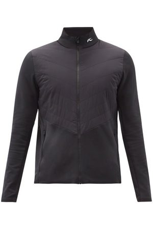 Kjus Men Jackets - Release Quilted-panel Technical-jersey Jacket - Mens