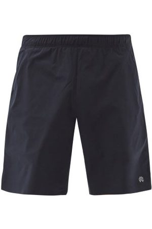 Men Sports Shorts - Reigning Champ - Hybrid Technical-shell Training Shorts - Mens - Navy
