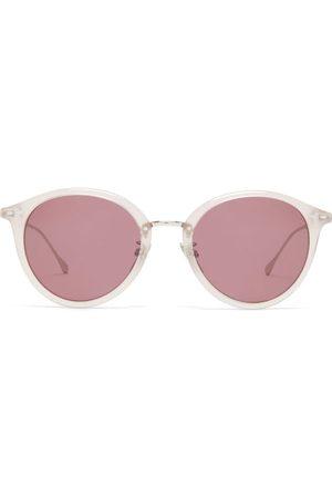 Isabel Marant Windsor Round Acetate Sunglasses - Womens - Nude
