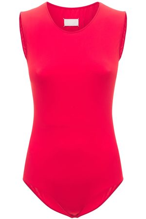 Maison Margiela Technical Jersey Sleeveless Bodysuit