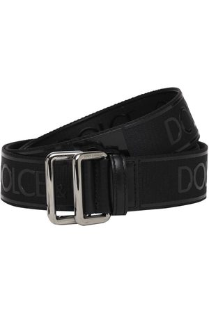 Dolce & Gabbana 35mm Logo Tech Belt
