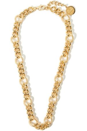 BY ALONA Women Necklaces - Lana Curb-chain 18kt -plated Necklace - Womens
