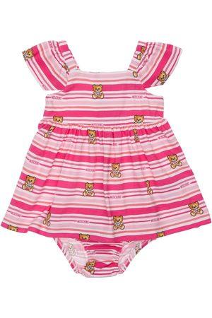 Moschino Striped Jersey Dress W/ Diaper Cover