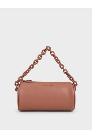 CHARLES & KEITH Chain Handle Crossbody Bag