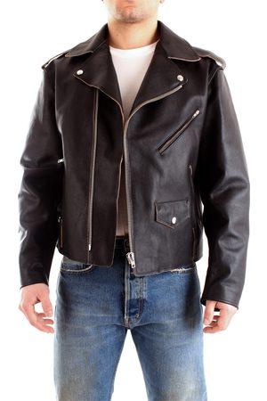 GRIFONI Leather jackets Men