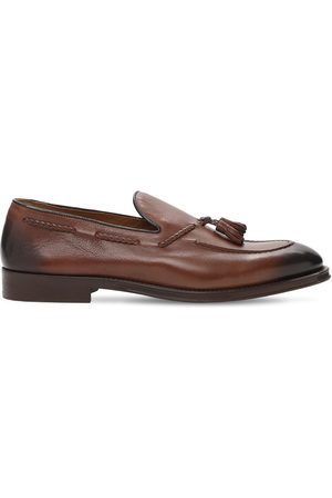 Doucal's Leather Loafers W/ Tassel