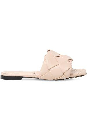 Bottega Veneta 10mm Leather Slide Sandals