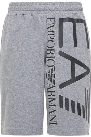 EA7 Men Bermudas - Train Logo Bermuda Shorts