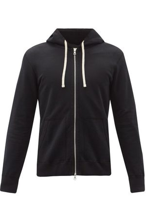 Reigning Champ Men Hoodies - Zip-through Cotton-jersey Hooded Sweatshirt - Mens