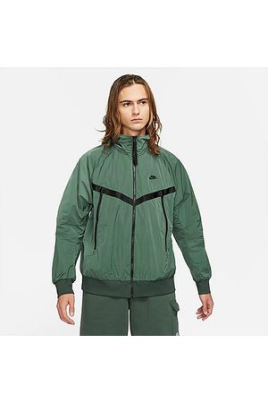 Nike Men Jackets - Men's Sportswear Tech Essentials Windrunner Jacket in /Galactic Jade Size 2X-Large Nylon/Polyester