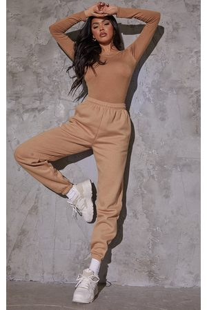 PRETTYLITTLETHING Taupe Sweat Pant Joggers