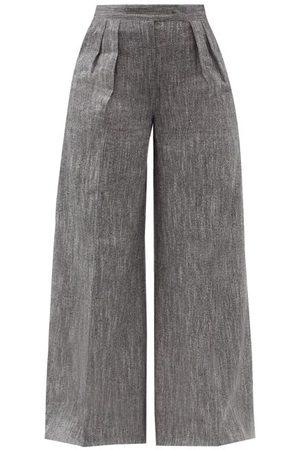 Max Mara Ofanto Trousers - Womens - Grey