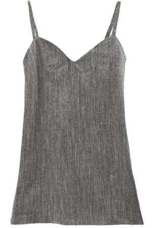 Max Mara Vespa Cami Top - Womens - Grey