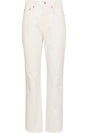 Acne Studios High-rise cropped straight jeans