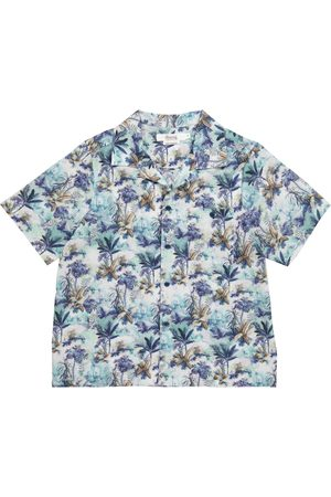 BONPOINT Steve floral cotton shirt