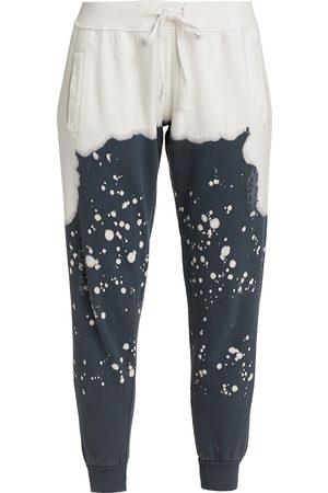 LA DETRESSE Women Sports Pants - Women's Acid Drop Sweatpants - Charcoal - Size Medium