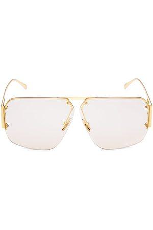 Bottega Veneta Men Sunglasses - Unapologetic 67MM Geometric Pilot Sunglasses