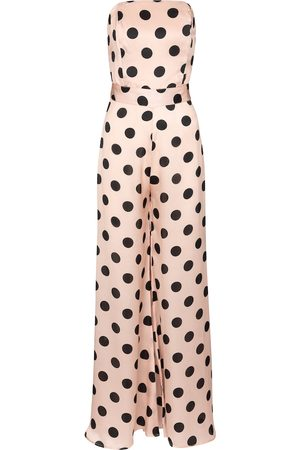 ALEXANDRA MIRO Exclusive to Mytheresa – Clara polka-dot jumpsuit