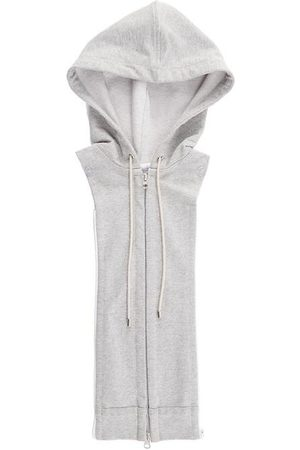 VERONICA BEARD Women's Hooded Dickey - Heather Grey - Size Small