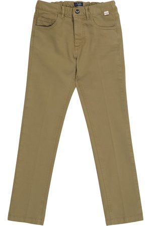 Il gufo Straight cotton pants