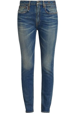 R13 Women's Alison Skinny Jeans - Crosby Stretch - Size Denim: 29