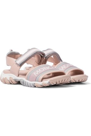 Moncler Sunset leather sandals