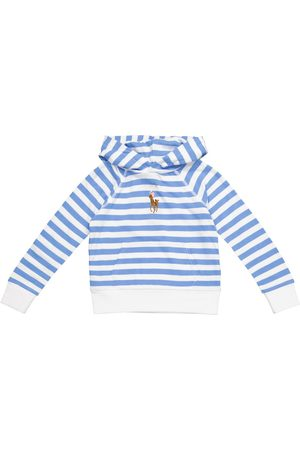 Ralph Lauren Striped cotton hoodie