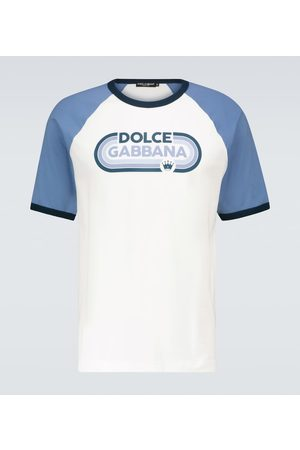 Dolce & Gabbana Short-sleeved logo cotton T-shirt
