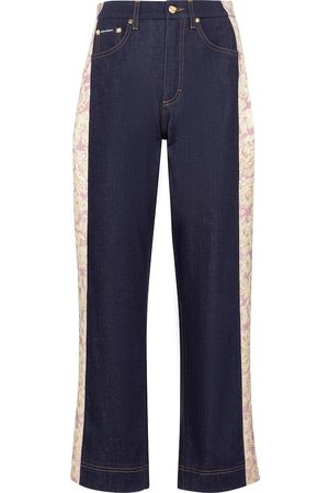 Dolce & Gabbana High-rise straight jeans