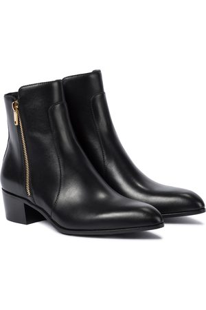 Balmain Roxie leather ankle boots