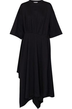 Balenciaga Pleated T-shirt dress