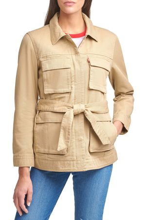 levi's Women Denim Jackets - Women's Safari Denim Jacket