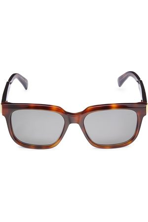 Dunhill Men Sunglasses - Men's 54MM Rectangular Sunglasses - Havana