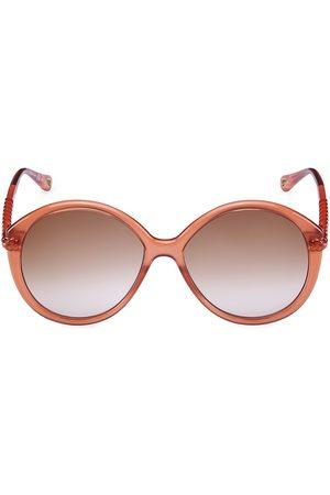 Chloé Women's 58MM Round Sunglasses