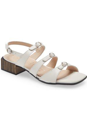 Wonders Women Sandals - Women's B-8003 Block Heel Sandal